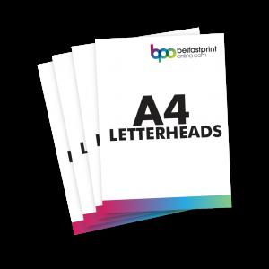 Belfast Print Online A4 Letterheads Litho
