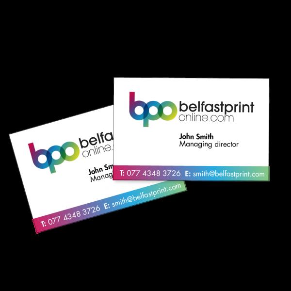 Belfast Print Online Business Cards Standard 400gsm Silk