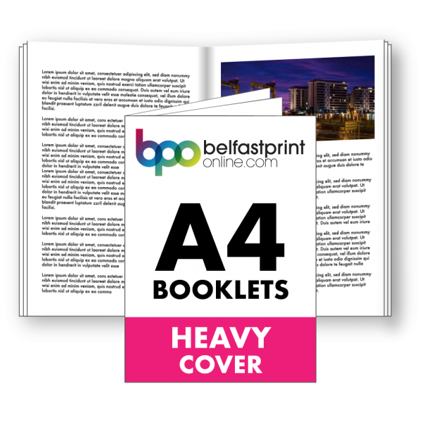 Belfast Print Online A4 Booklets Heavy Cover Litho
