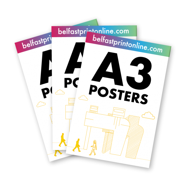 Belfast Print Online A3 Posters Litho