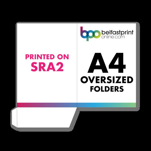 Belfast Print Online A4 Oversized Presentation Folders SRA2 Litho