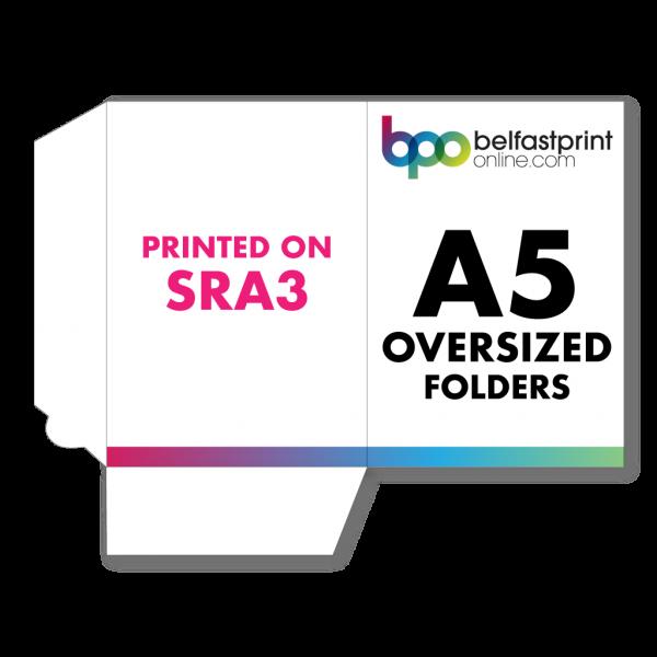 Belfast Print Online A5 Oversized Presentation Folders SRA3 Litho