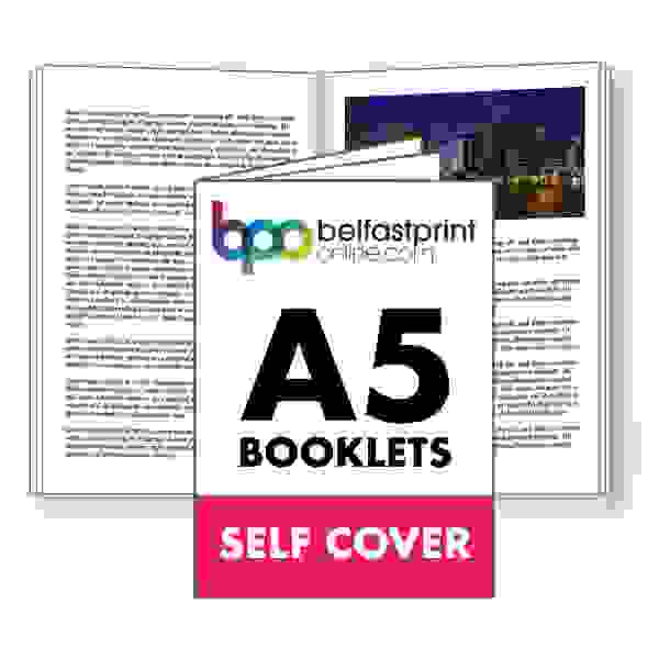 A5 Booklets Self Cover
