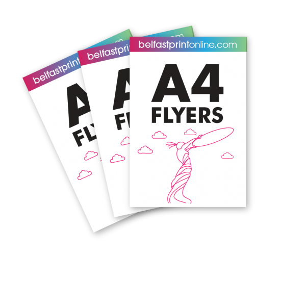 Belfast Print Online A4 Flyers Litho