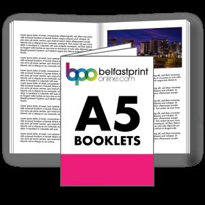 Belfast Print Online A5 Booklets Litho