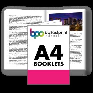 Belfast Print Online A4 Booklets Litho