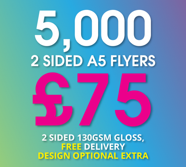 A5 Flyers OFFER