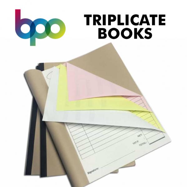 Belfast Print Online - Triplicate Books