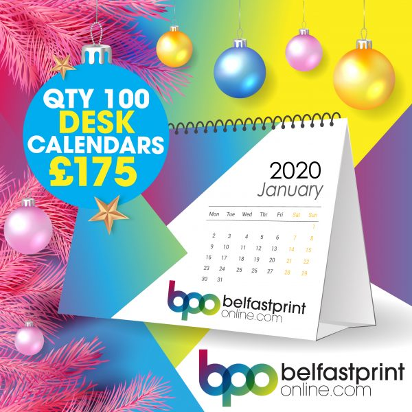 Flip Desk Calendar Offer