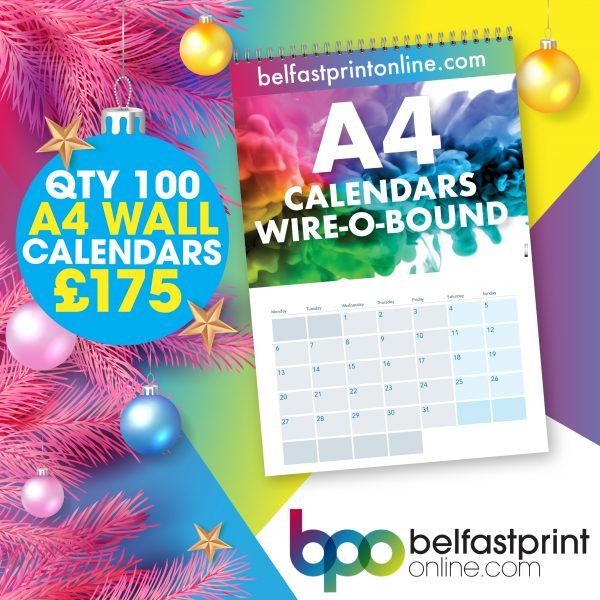 A4 Wall Calendar Offer