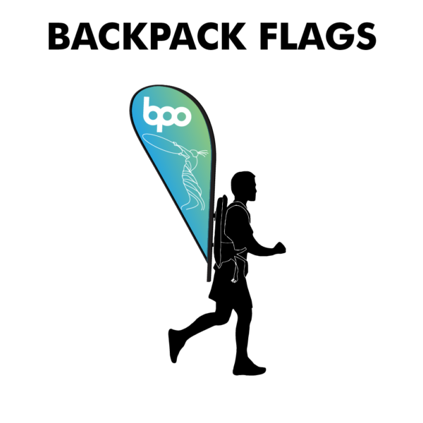 Backpack Flag - Belfast Print Online