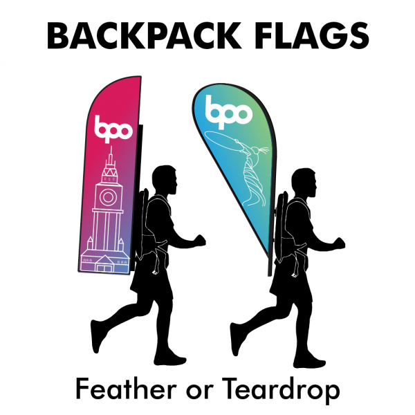 Belfast Print Online - Backpack Flags