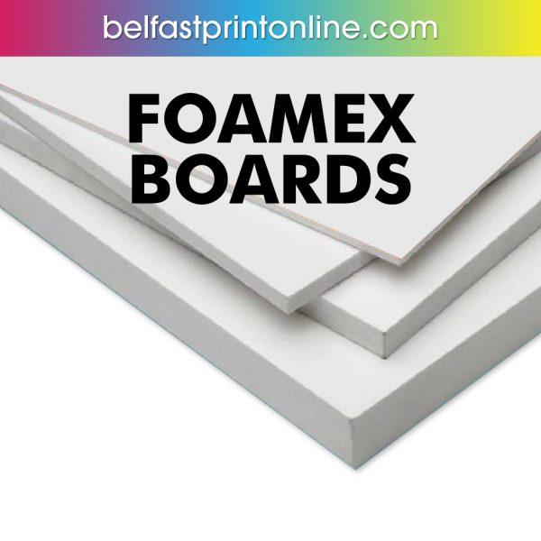 Belfast Print Online - Foamex Printing Boards