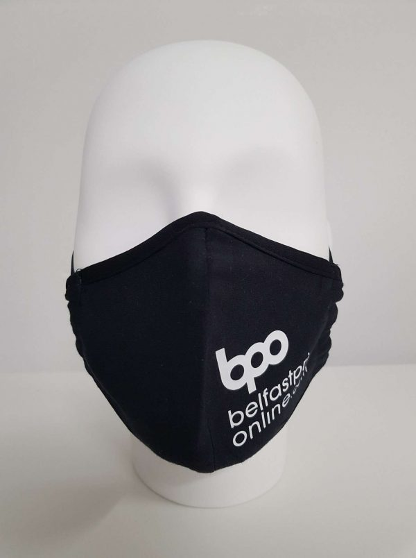 Custom Face Masks - Type 1 - Cotton Mask - Belfast Print Online
