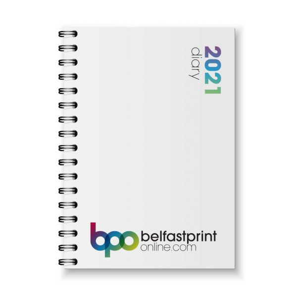 Custom Printed Diaries, A5 and A4 size - Belfast Print Online