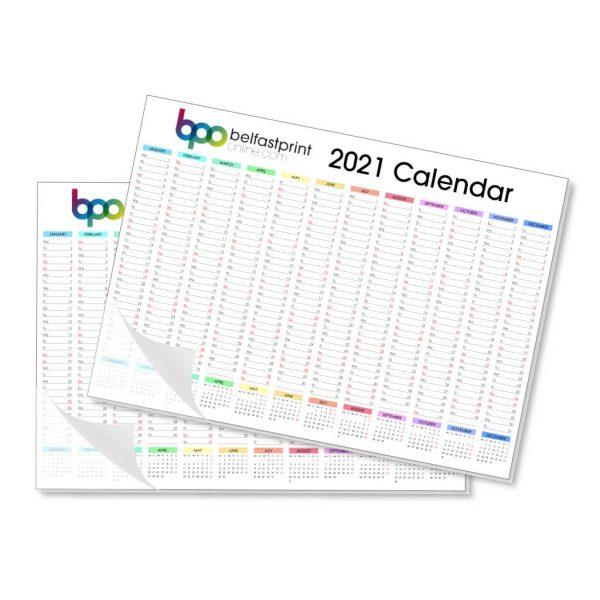 Custom Printed A3 Desk Pad Calendars - Belfast Print Online