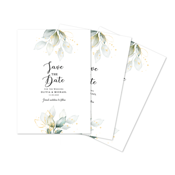 Save the Date Card Printing - Belfast Print Online